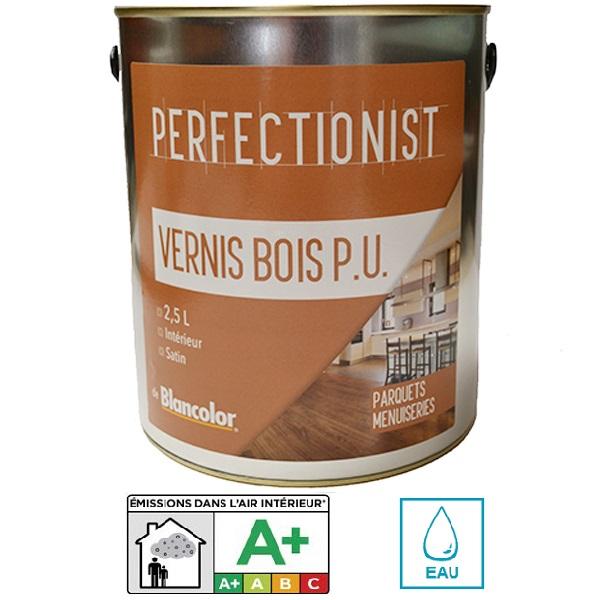 Vernis pu bois 2 5l blancolor pour boiseries int rieures - Vernis polyurethane bois ...