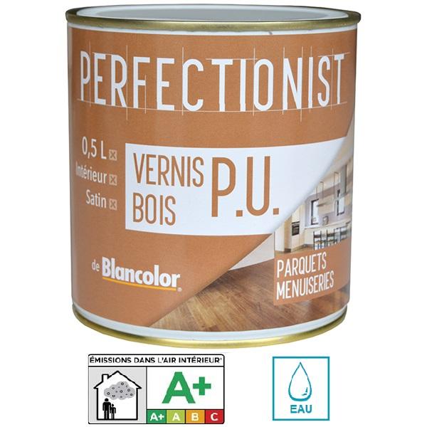 Vernis pu bois 0 5l blancolor pour boiseries int rieures - Vernis polyurethane bois ...