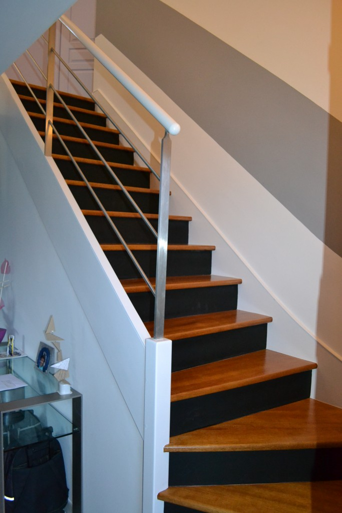 Escalier - Malle peinture