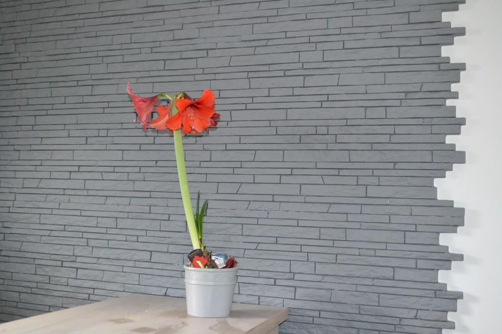 Staff imitation pierres fines sèches avec mise en peinture